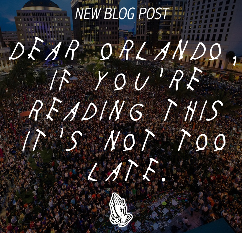 orlando its not too late